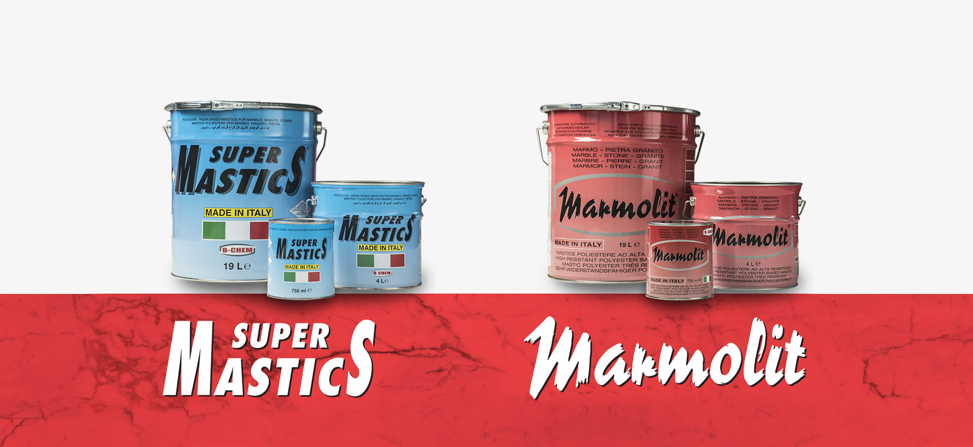 Polyester Glues – Marble Line